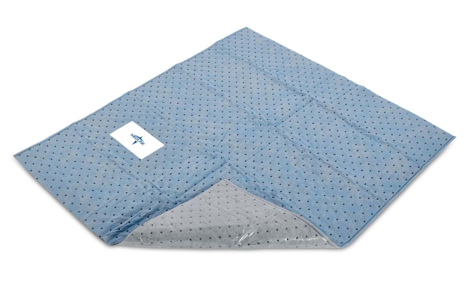 Medline QuickSuite Impervious Absorbent Floor Pad  46X40