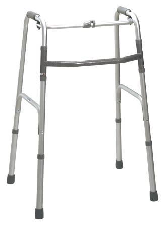 Drive Medical Deluxe Folding Walker Adjustable Height