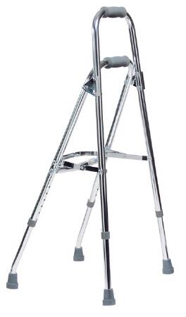 Graham-Field Lumex Walkane Folding Walker Adjustable