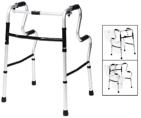 Graham-Field Lumex UpRise Folding Walker Adjustable Height