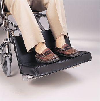 chair leg extenders deck plans wheelchair footrest extender/leg rest pad - 1