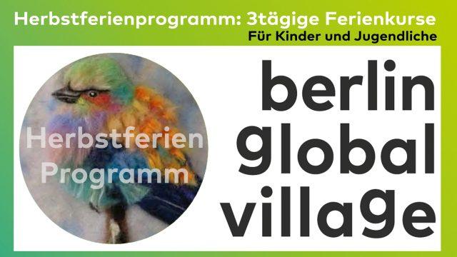Herbstferienprogramm in der Ludothek global – Ferienkurse für Kinder und Jugendliche