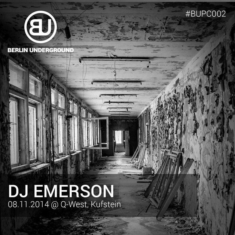 #BUPC002 – DJ Emerson