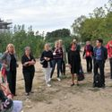 Erweiterung: 1. Spatenstich der Kindertagesstätte Havelländer Ring - die Besucher