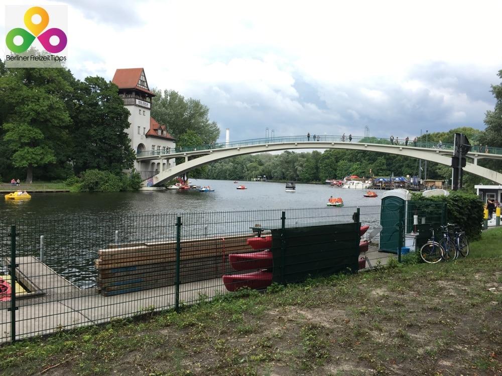 Boots- und Tretbootverleih in Berlin Treptow