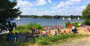 Badestellen an der Havelchaussee (kostenlos)