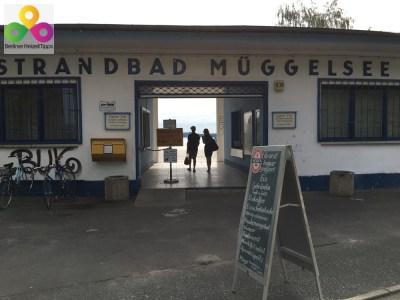 Bild Eingang Strandbad Mueggelsee