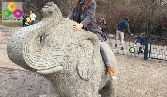Bild Elefant Plansche Fiedrichshain