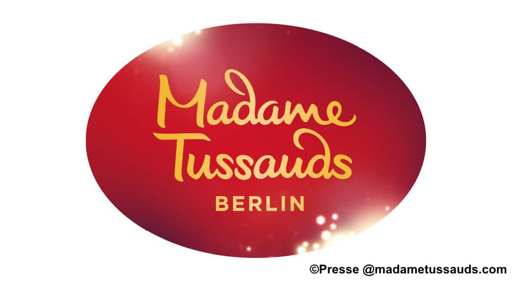 Logo Madame Tussauds Wachsfigurenkabinett in Berlin