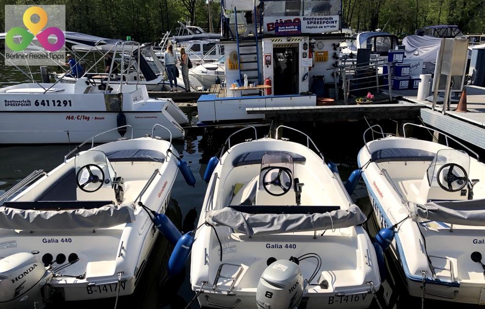 Bild Bootsverleih Spreepoint am Wassersportzentrum