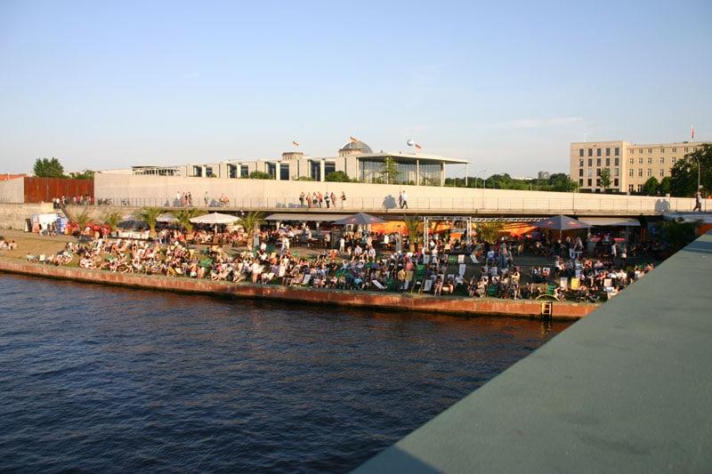 Bild Spreebar Capital Beach Mitte