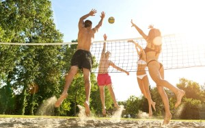 Beachvolleyball Fun for 4 in Potsdam