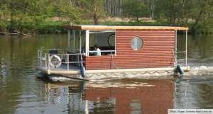 Hausboot, Floss und Kanu Verleih in Hindenburg bei Templin