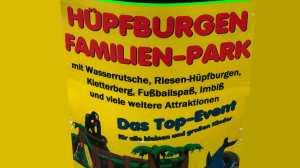 Hüpfburgen Familienpark Wedding Reinickendorf am Kurt Schumacherdamm