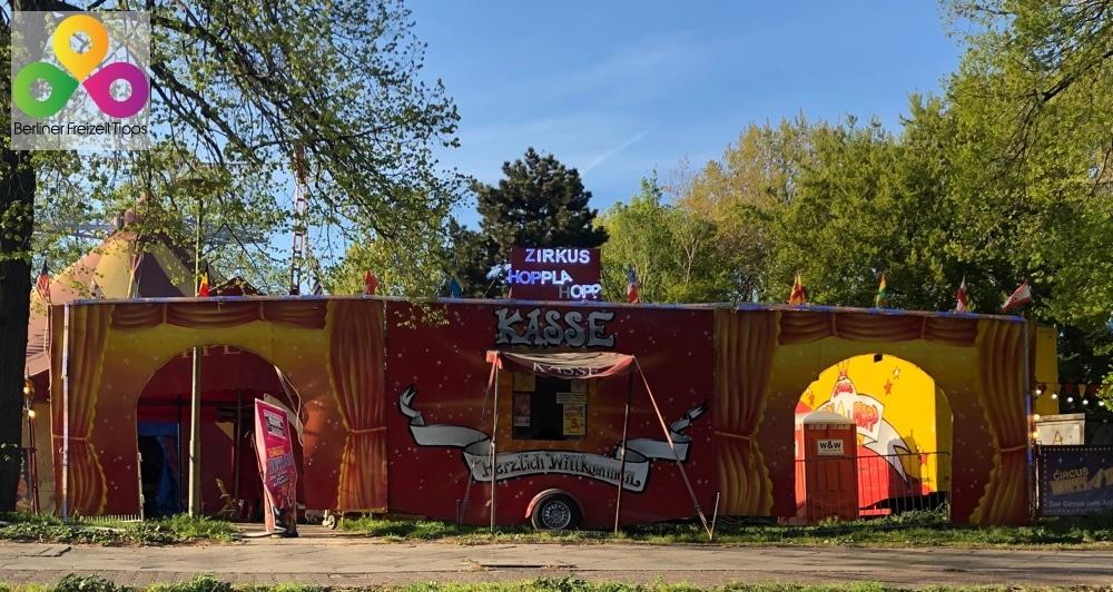 Bild Circus Hoppla Hopp Berlin