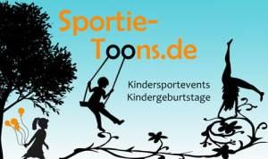 Kindergeburtstage und Kinderevents mit Sportie-Toons