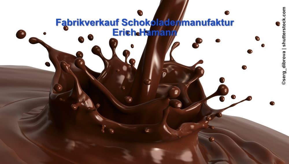 Bild Fabirkverkauf Schokoladenmanufaktur Erich Hamann Berlin