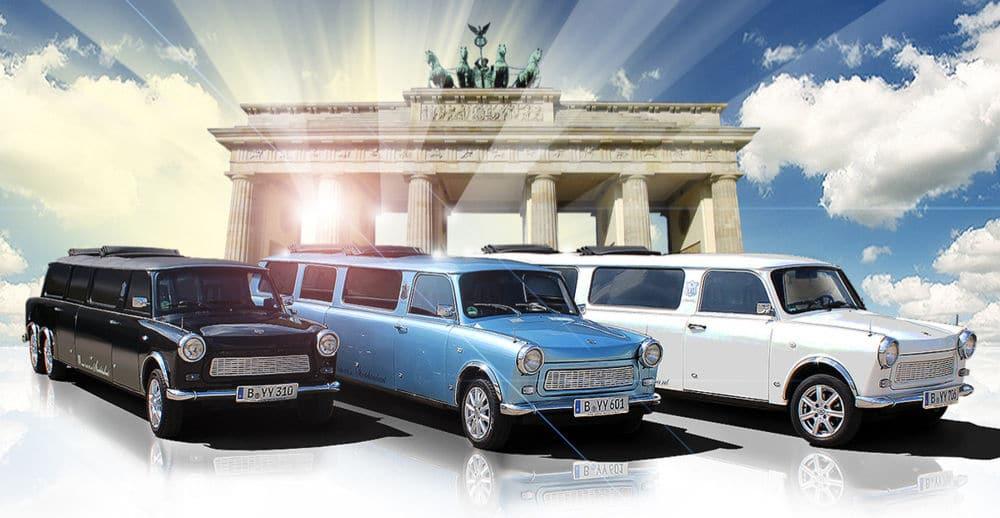 Bild besondere Stadtrundfahrt in Trabant Stretchlimousinen