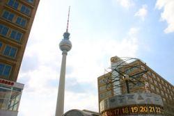 Bild Fernsehturm Weltzeituhr 003