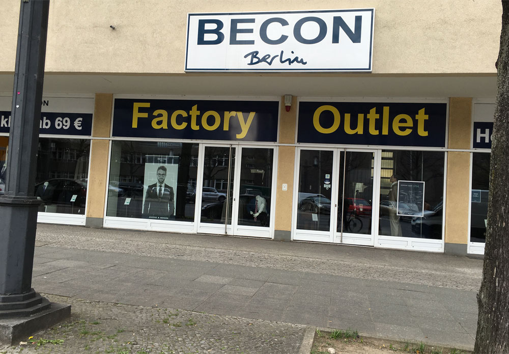 Bild Becon Outlet Store Berlin