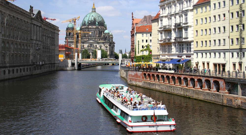 Schiffstouren mit Sightseeing Point in Berlin