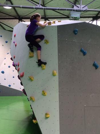 Bild Boulderanlage Cliffhanger in Berlin Spandau