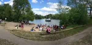Badestellen am Tegler See