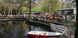 Bild Biergarten im Tiergarten Am neuen See