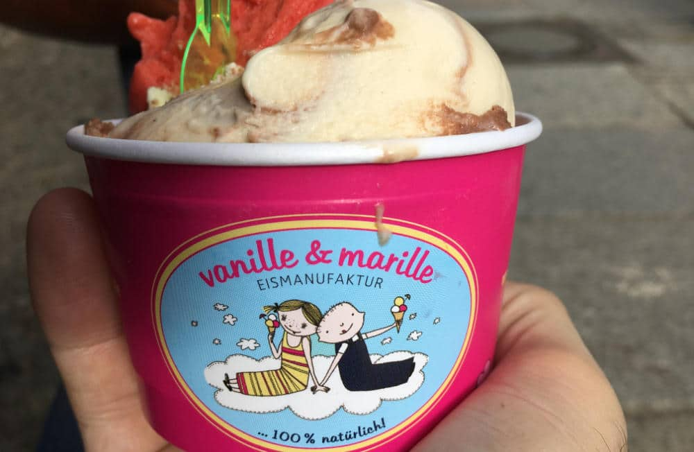 Bild Eismanufaktur Vanille und Marille