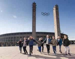 Bild Kindergeburtstag Berlin Olympiastadion