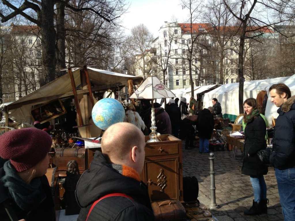 Bild Trödelmarkt Arkonaplatz Prenzlauer Berg