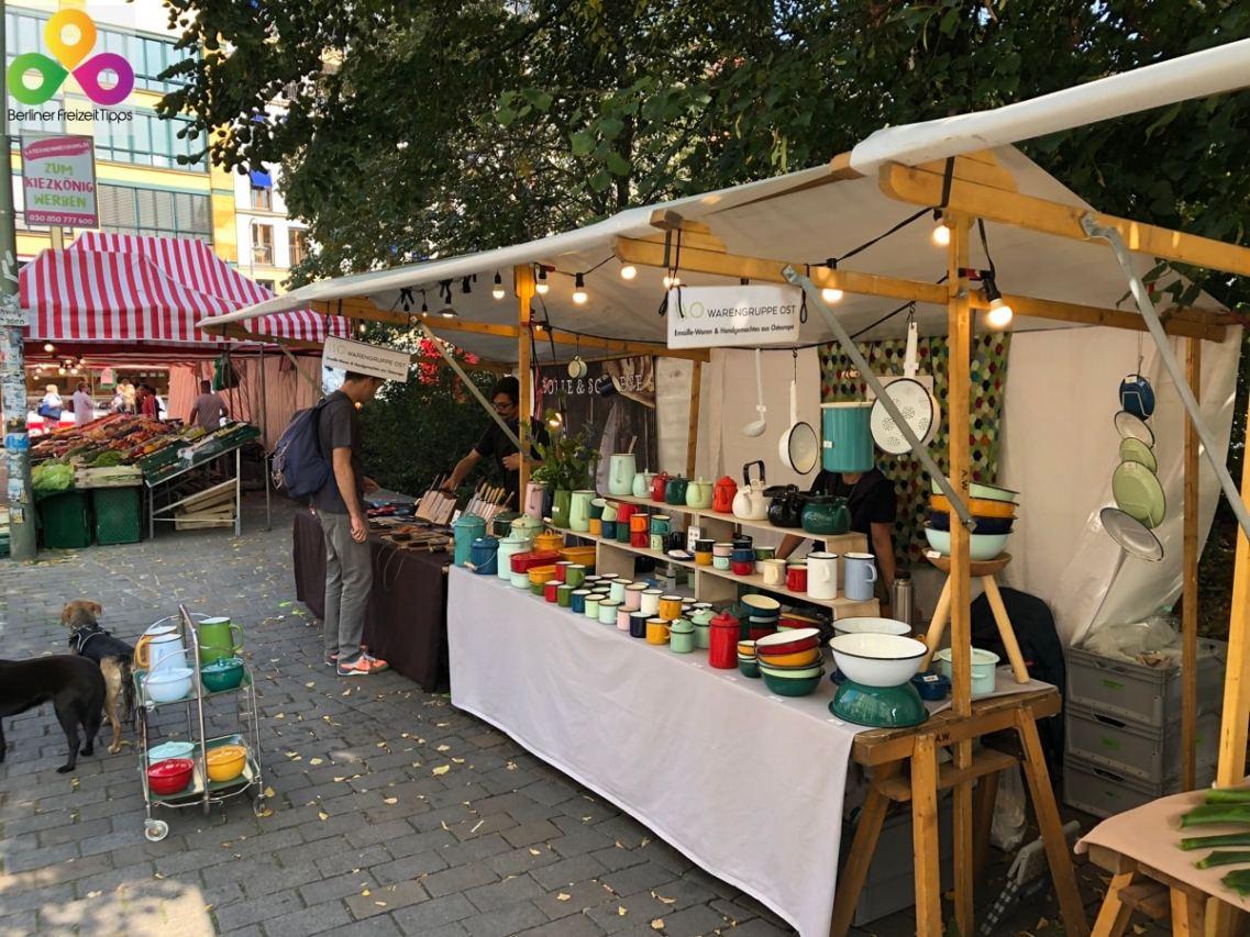 Bild Flohmarkt Kunstmarkt Trödelmarkt in Berlin