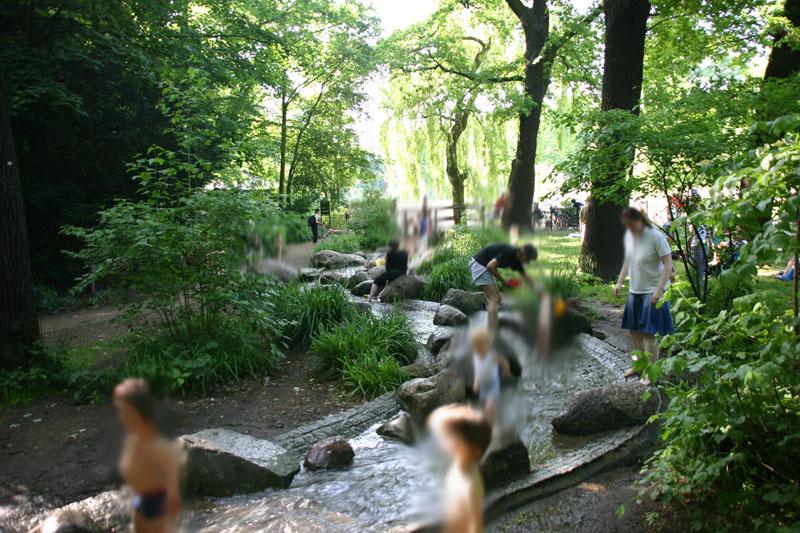 Planschen für Kleinkinder in Berlin