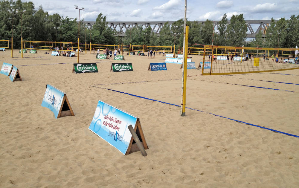 Beachvolleyball in Berlin spielen