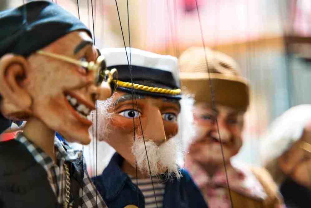 Puppenspiel Puppentheater Kasperletheater