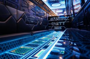 Gaming Party Bus mieten