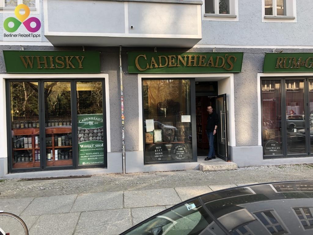 Bild Whiskyladen Cadenhead