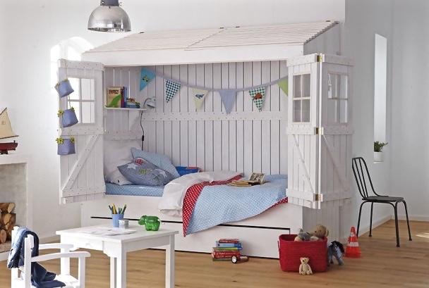 Außergewöhnliche Kinderbetten: Inspiration fürs Kinderzimmer
