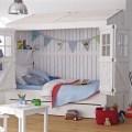 Strandhausbett fürs Kinderzimmer in Weiß (Foto: CAR Kinder)