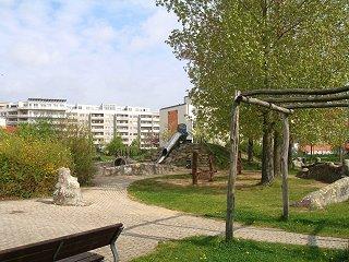 Spielplatz in Marzahn Eichhorster Str./Rosenbecker Str. © Bezirksamt Marzahn-Hellersdorf