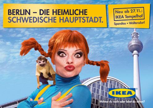 IKEA Eröffnungskampagne: Berlin - Die heimliche schwedische Hauptstadt