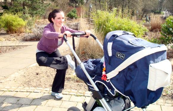 Sport mit Kinderwagen - Tag 1