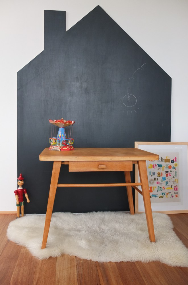 tafelfarbe im kinderzimmer die sch nsten ideen und inspirationen. Black Bedroom Furniture Sets. Home Design Ideas