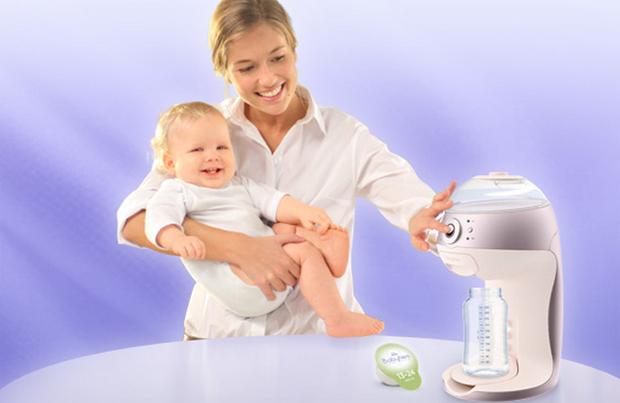 Baby-Latte-Macchiato: Kapselautomat für Babymilch