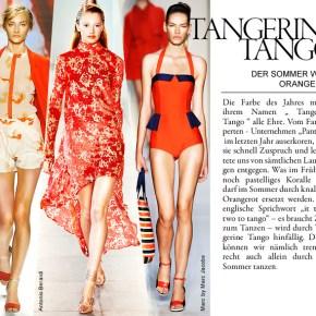 Tangerine Tango: Der Sommer wird Orangerot! (Foto von Zalando News & Style, http://www.zalando.de/news-styles/trends/tango/))