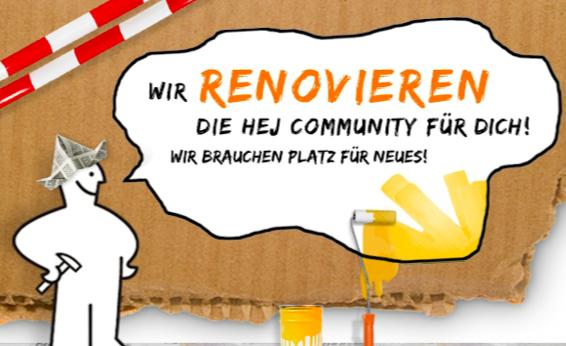 hey Community Renovierung: Eine Online-Community wird verscherbelt.