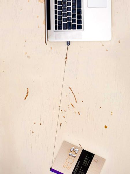 Design ist Kunst, die sich nützlich macht: Design-Kalender 2013 von tyyp - Büro für Design, handgefertigt in Berlin