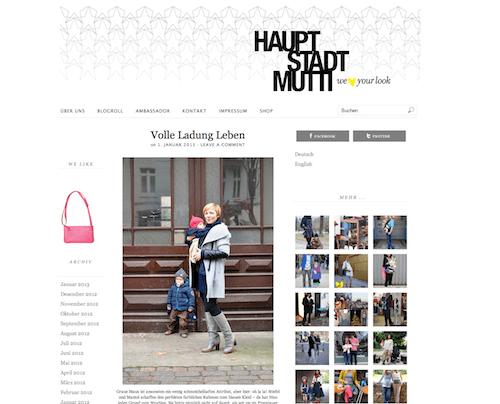 Gefunden als Mama Blog Berlin: Hauptstadtmutti