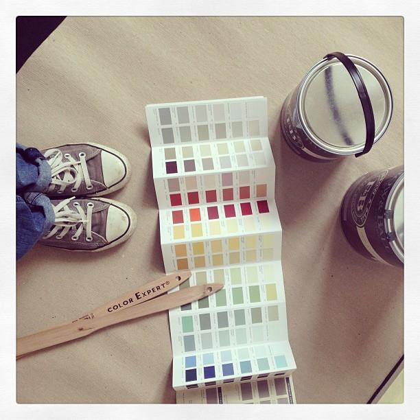 To do für heute: Farbwechsel im Kinderzimmer. #FromWhereIStand #HashtagHunt