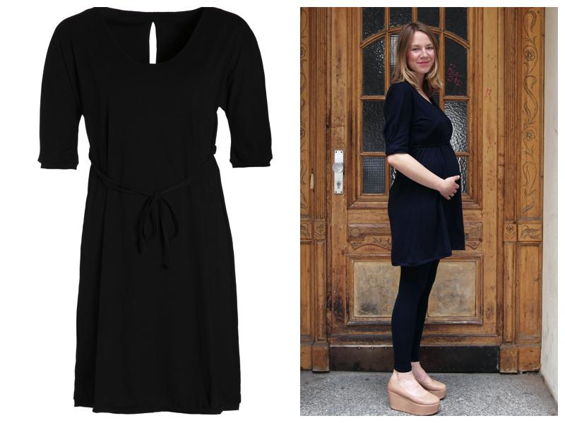"""Hinter dem Namen """"slowmama"""" verbirgt sich ein Kleid das sowohl vor, während als auch nach der Schwangerschaft passt und jede (werdende) Mutter von ihrer schönsten Seite zeigt."""